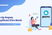 Top Up Gopay di Aplikasi Kios Bank