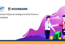 Registrasi Pinjaman Multiguna WOM Finance di KIOSBANK