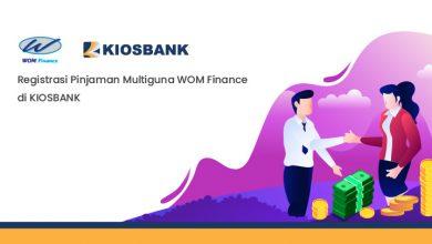 Registrasi Pinjaman Multiguna WOM Finance di KIOSBANK
