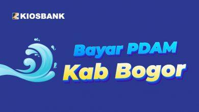Bayar Tagihan PDAM Kabupaten Bogor di Kiosbank