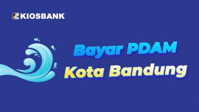 Bayar tagihan PDAM Kota Bandung di aplikasi KiosBank