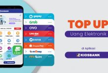 top up saldo uang elektronik