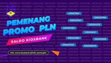 pemenang promo PLN - Kiosbank
