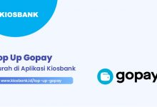 Top Up Gopay Murah di Kios Bank