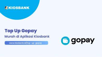 Top Up Gopay Murah di Kios Bank