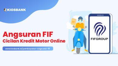 Pembayaran Angsuran Motor FIF Online di Kiosbank Langsung di HP-mu