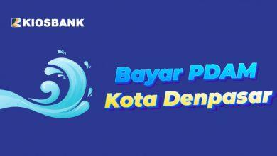 Bayar Tagihan PDAM Kota Denpasar Tirta Sewakadarma di Kiosbank