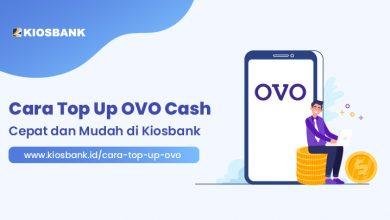 Cara Top Up OVO Cash Paling Cepat dan Mudah di Kiosbank