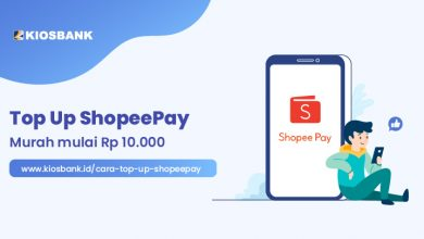 Cara Top Up ShopeePay Murah di Kiosbank