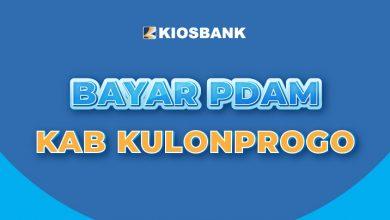 Cek PDAM Kab. Kulon Progo Tirta Binangun di Kiosbank