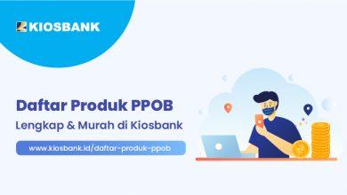 Daftar Produk PPOB Kiosbank - Layanan Lengkap dan Murah